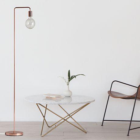 Cool Floor L& - Copper by Frandsen Lighting #MONOQI  sc 1 st  Pinterest & Cool Floor Lamp - Copper by Frandsen Lighting #MONOQI   Lamps ...