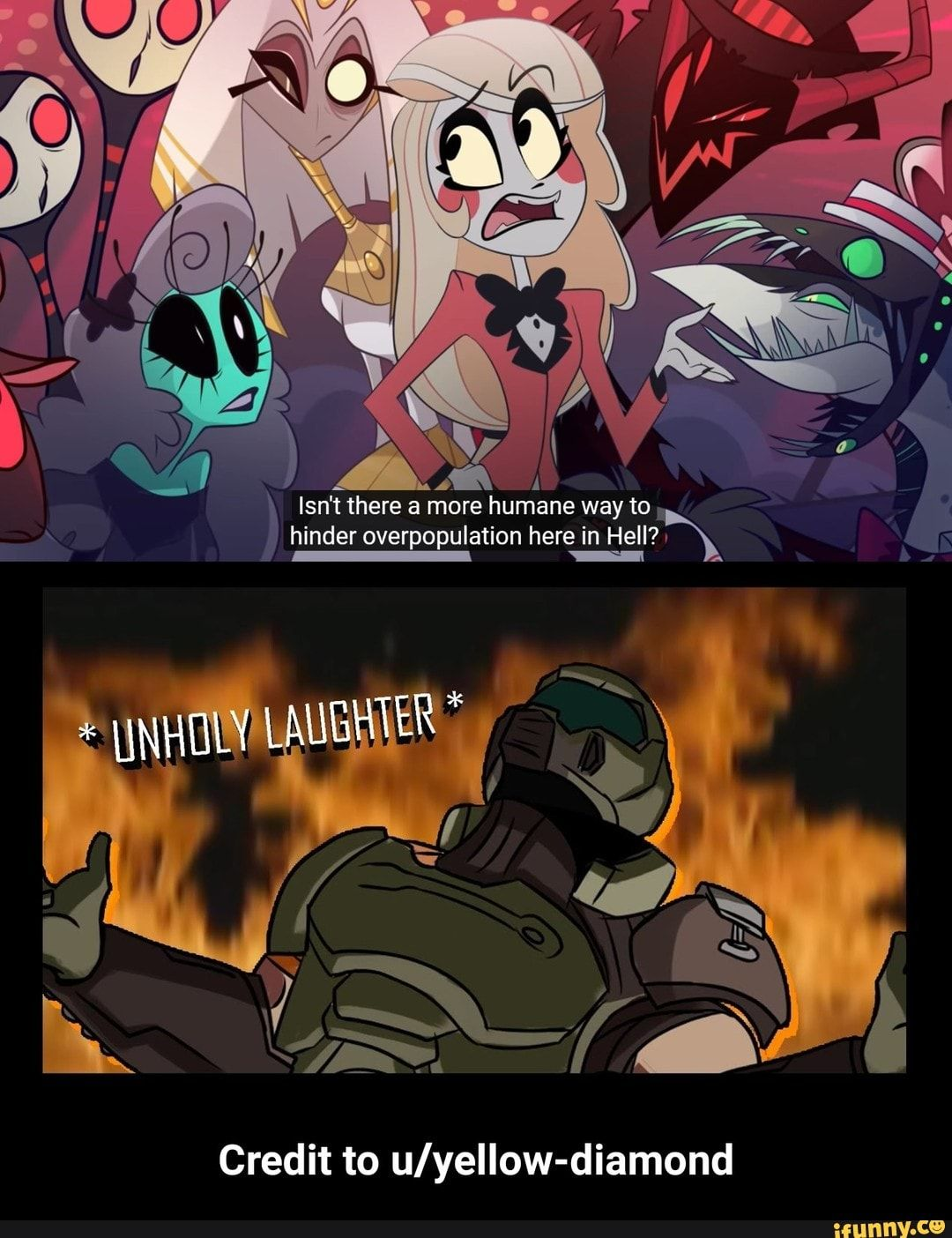 Credit To U Yellow Diamond Ifunny Funny Gaming Memes Anime Memes Funny Anime Funny