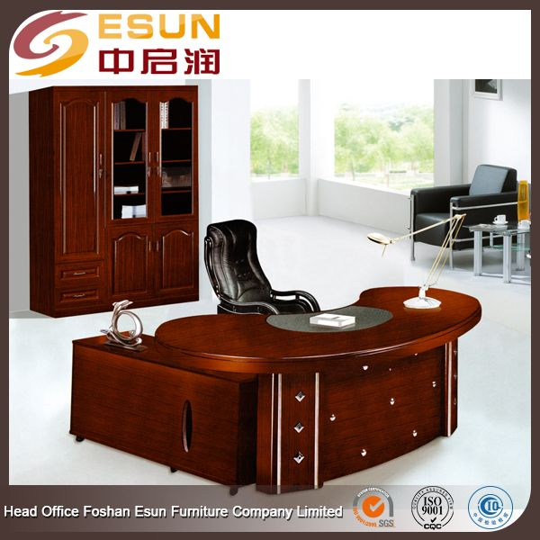 Factory Wholesale Price Office Furniture Wooden L Shape Executive