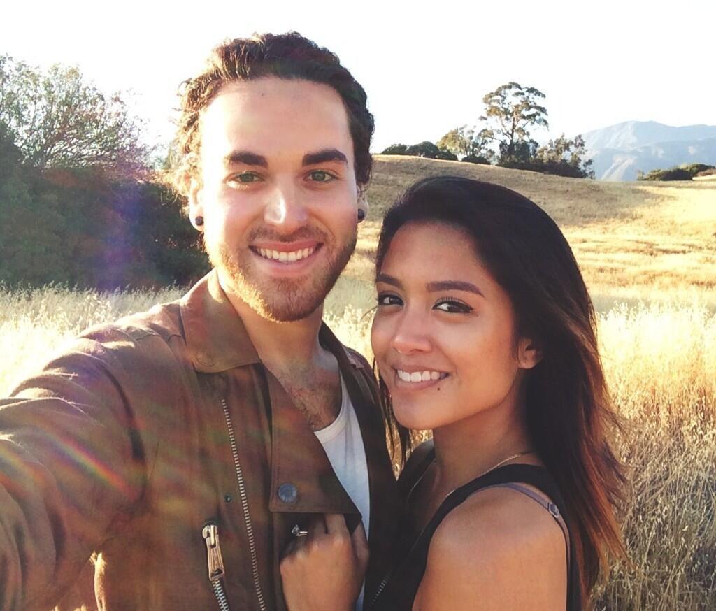 Us The Duo mountaintop selfie!