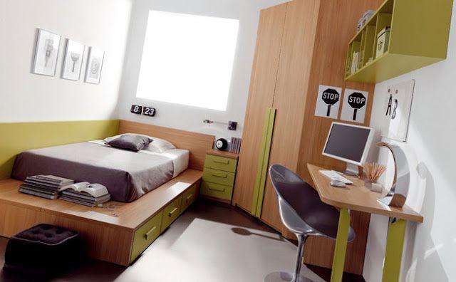 Escritorios para recamaras juveniles habitaciones for Recamaras con escritorio