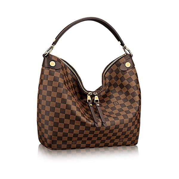 LOUIS VUITTON Duomo Hobo.  louisvuitton  bags  canvas  leather  lining   metallic  shoulder bags  hobo cb843e8d193