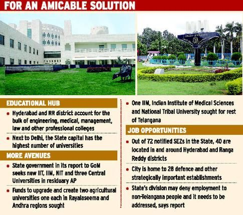 'Make education in Hyderabad accessible to all'