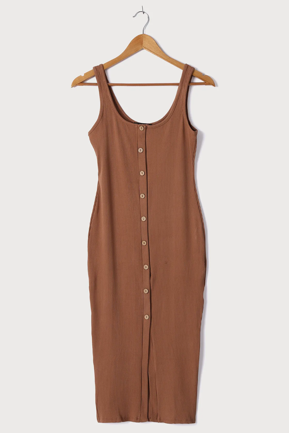 Look Of Leisure Tan Ribbed Button Front Midi Dress In 2021 Clothes Midi Dress Bodycon Wonderful Dress [ 1500 x 1000 Pixel ]