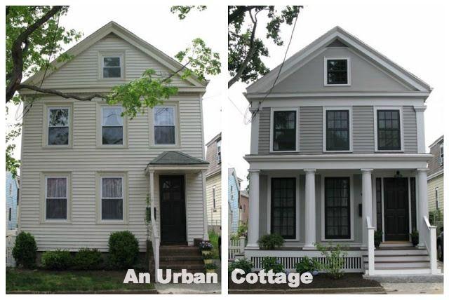 Exterior House Makeover Rectangle Home
