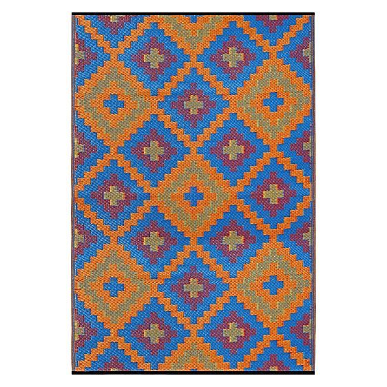 Saman Plastic Outdoor Rug By FAB Rugs   $45.47