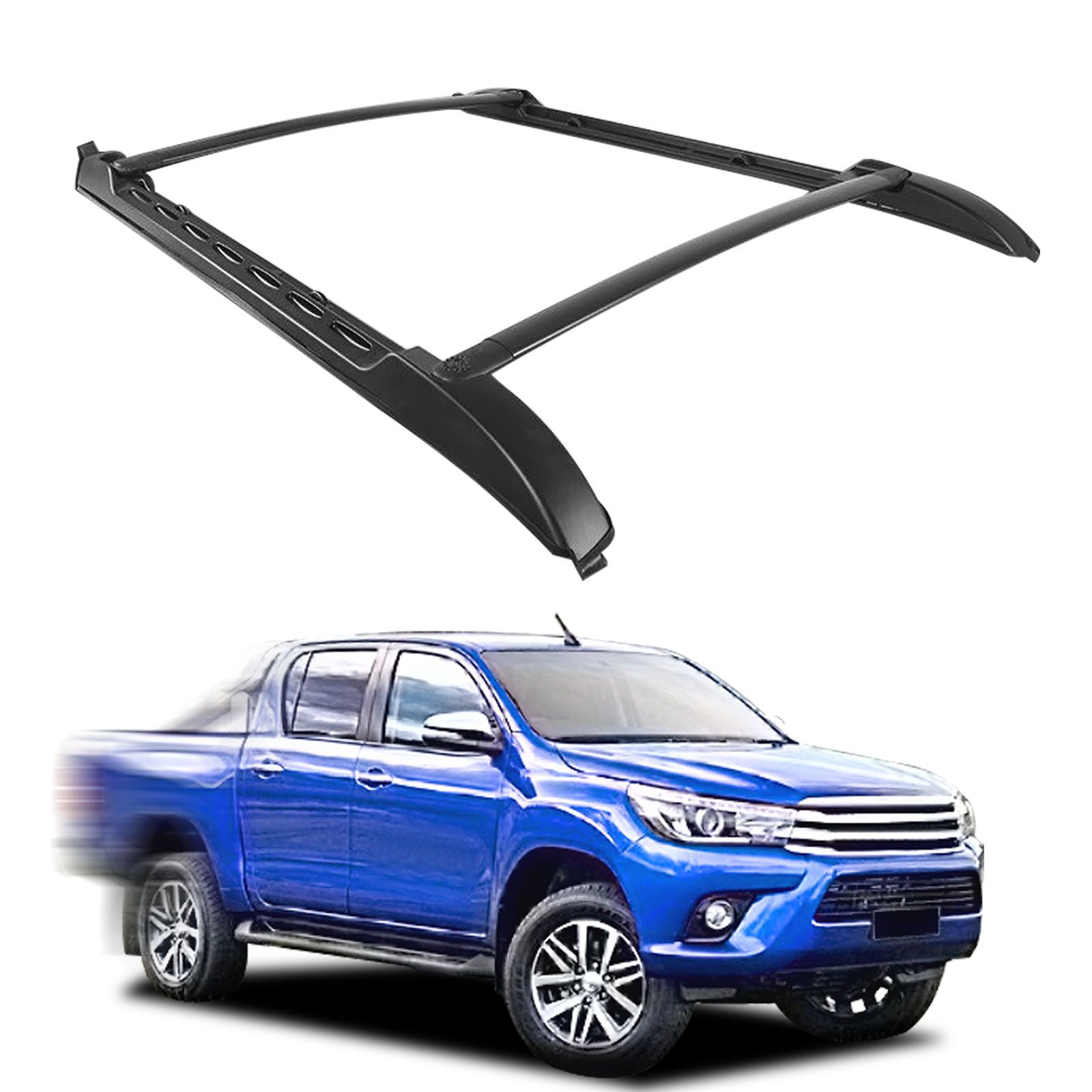 Awesome Amazing For 2005 2017 Toyota Tacoma Aluminum Luggage Carrier Roof Top Rack Side Rails 20 Toyota Tacoma Double Cab Toyota Tacoma Roof Rack Toyota Tacoma
