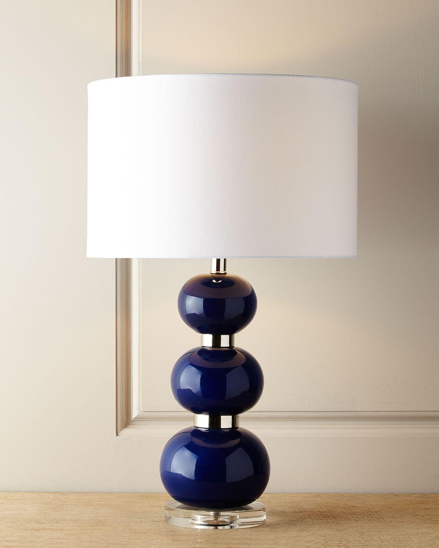 Mydomaine Table Lamp Lamp Blue Table Lamp