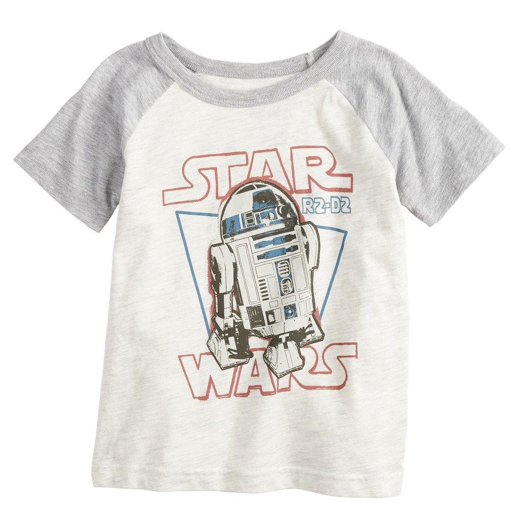 "Star Wars Baby T-Shirt /""R2D2/"" Boy Girl Tee Robot Design Funny Clothes"
