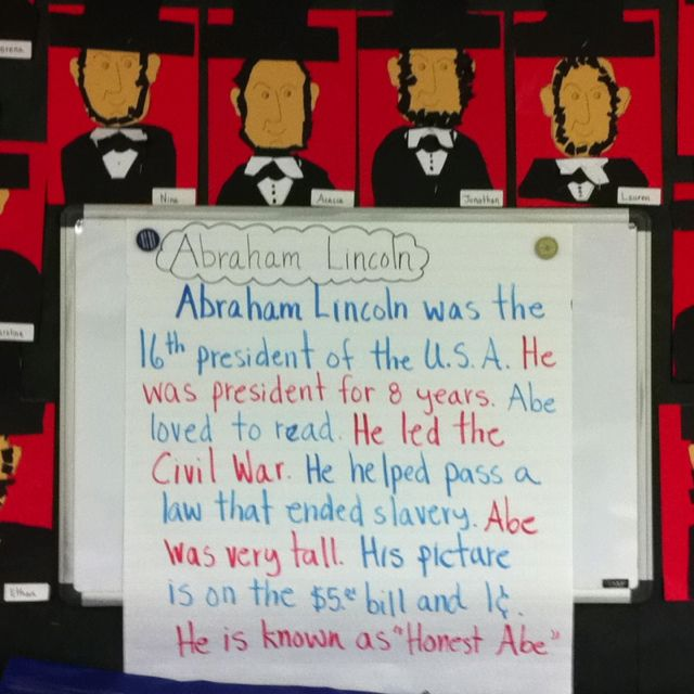 Abraham Lincoln Craft Brainstorm Abe Lincoln Activities