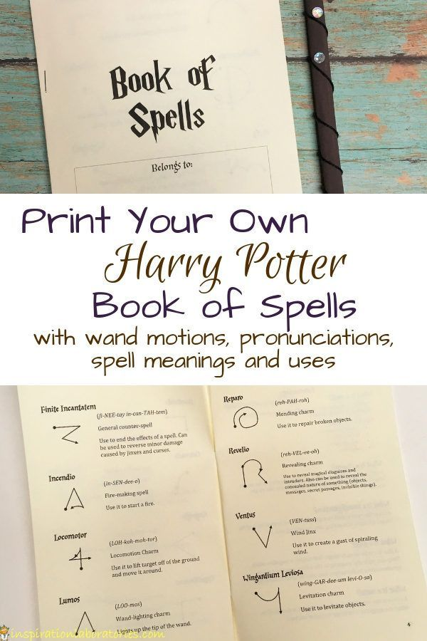 Photo of DIY Harry Potter Book of Spells | Inspiration Laboratories