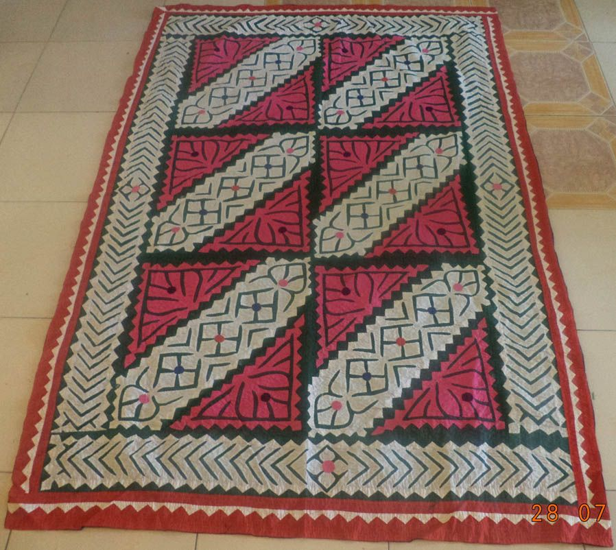 100% Handmade Ralli Quilt – Applique Work Product Code: SV-962 ... : ralli quilts - Adamdwight.com