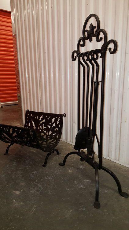 Loading Fireplace Tools Wrought Iron Iron