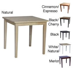 Overstock Com Online Shopping Bedding Furniture Electronics Jewelry Clothing More Square Dining Tables Dining Table Solid Wood Table