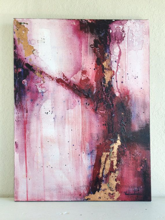 Abstract Painting Print - 16 x 20 #framesandborders