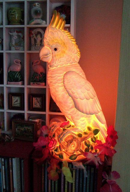 Kitschy lamp