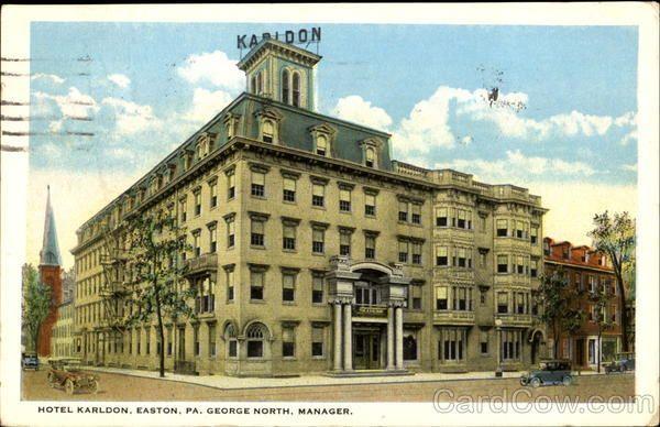 Karldon Hotel Of Old In Easton It Is Long Demolished Pity