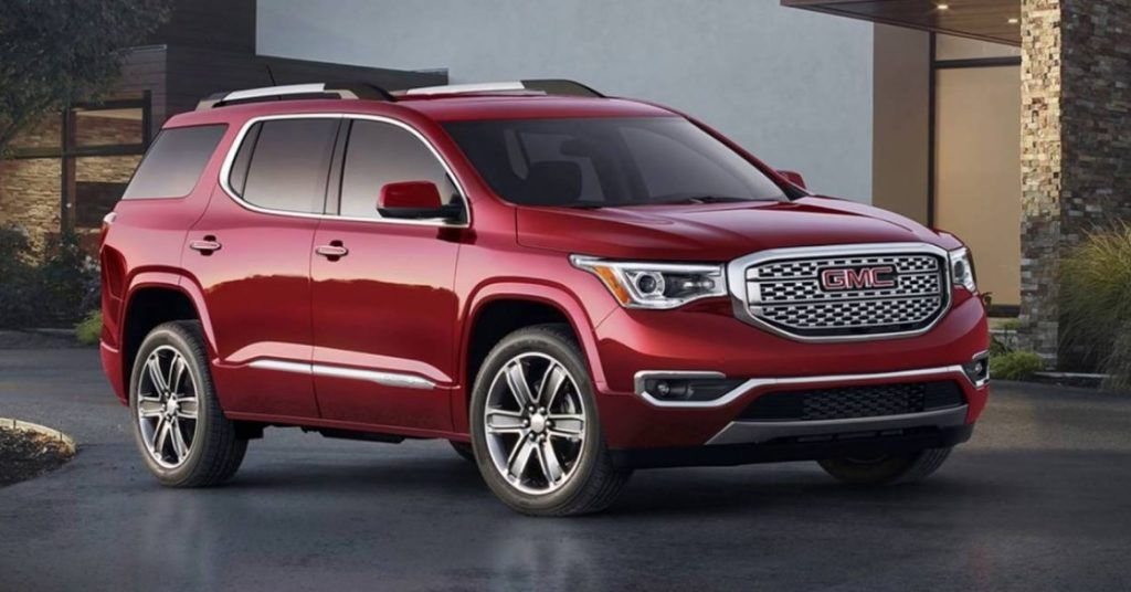 2018 Gmc Acadia Release Date Price Review