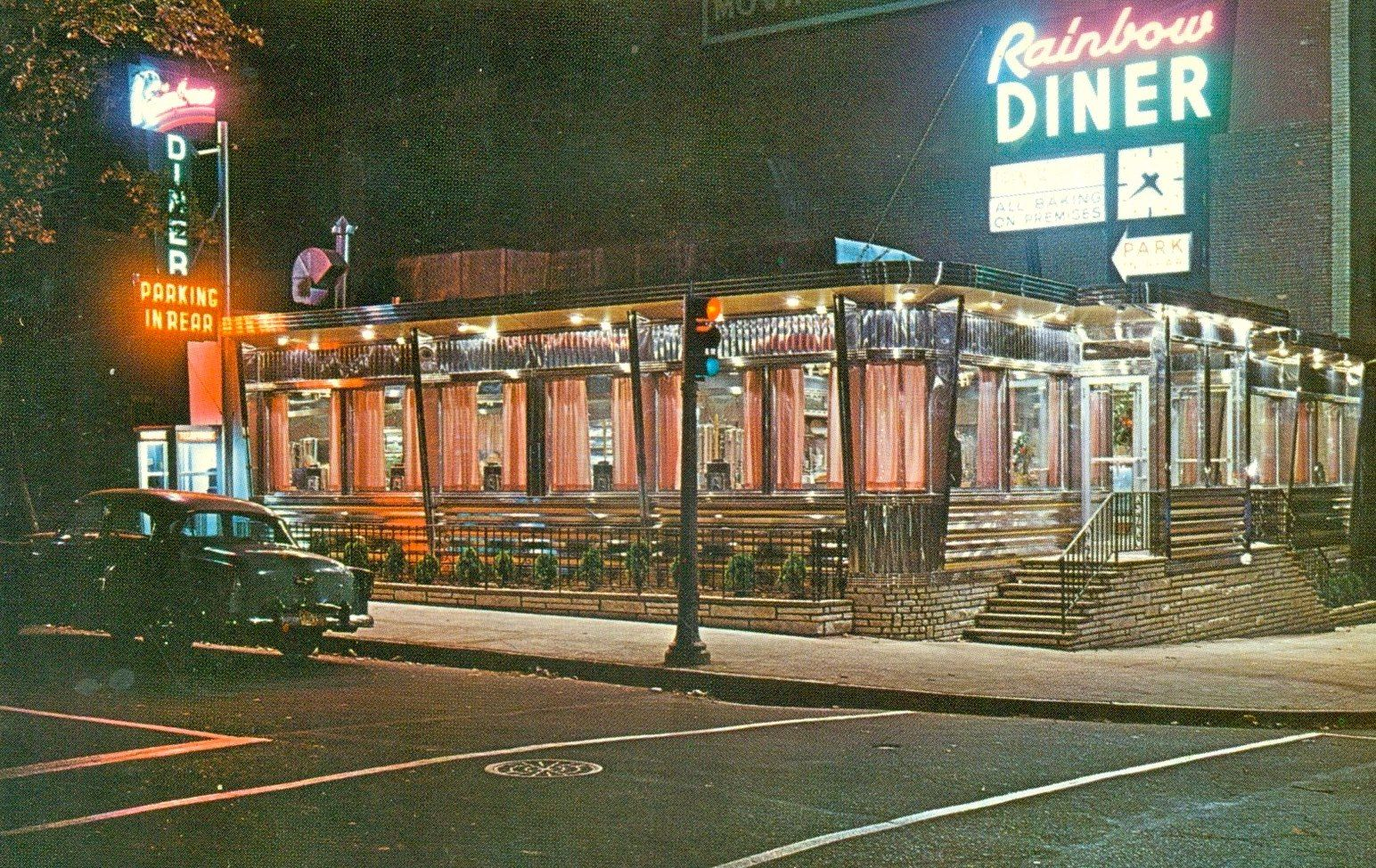 Rainbow Diner on Central Ave and South 10th Street  1950's