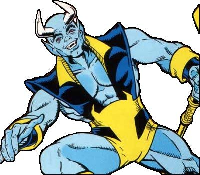 Image result for blue devil dc comics