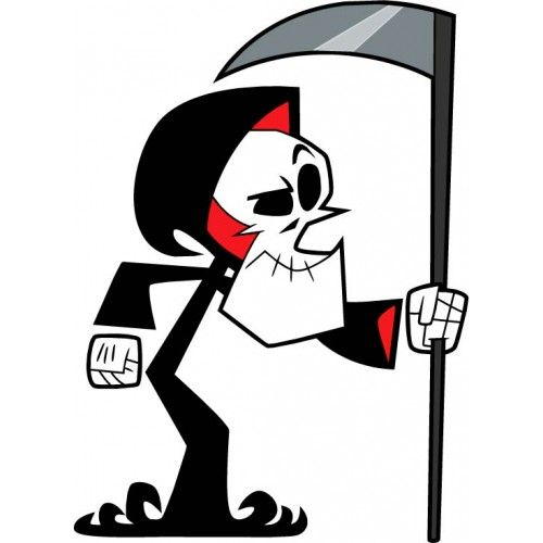 The Grim Adventures Of Billy Mandy Grim Graffiti Cartoons Grim Reaper Cartoon The Grim