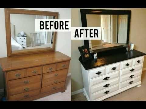 Restauracion De Un Mueble Con Carcoma Y Pintura Efecto Tiza Chalk Paint Youtube