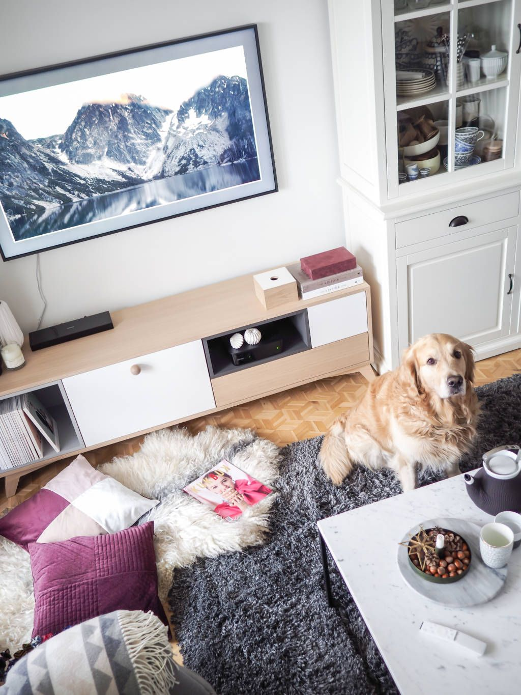 Cosy Apartment And Hygge Atmosphere Of Scraperka S Home And Our Beautiful Koobik Tv Unit In It