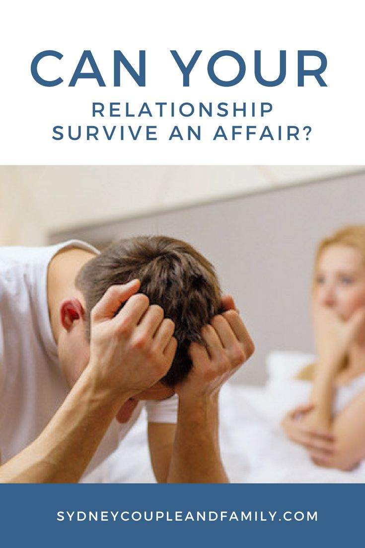 Can a relationship survive an affair relationship