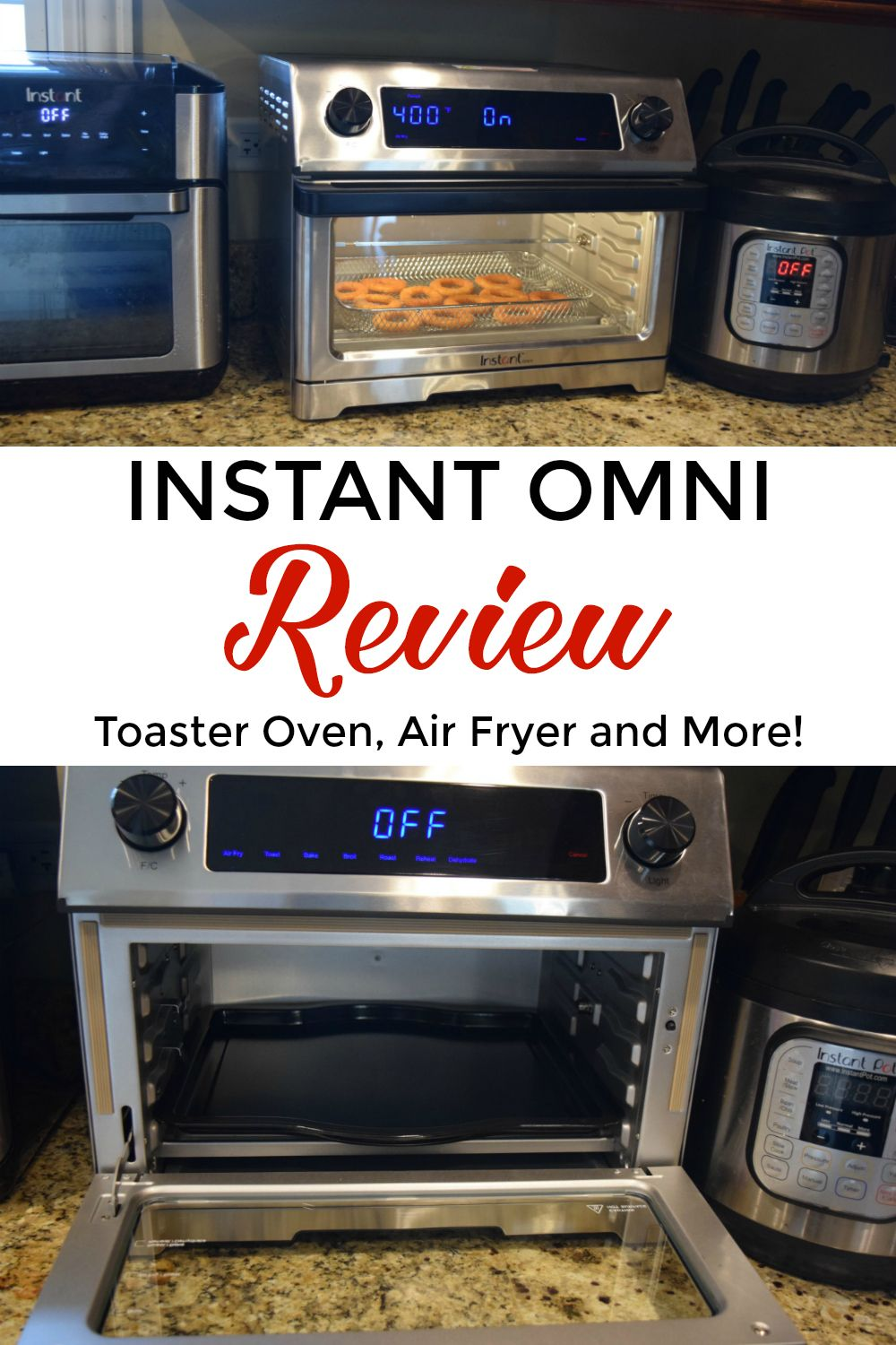 Instant Omni Review Toaster oven recipes, Instant pot