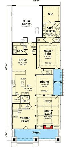 Plan 75552GB 3 Bed Crowd-Pleasing Bungalow House Plan Bungalow