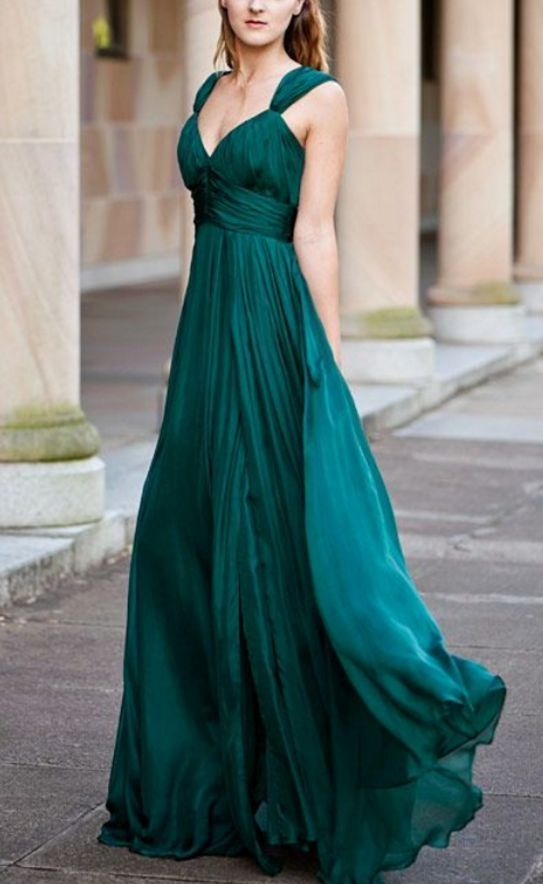795a7ba4643 Emerald Green Bridesmaid Dress
