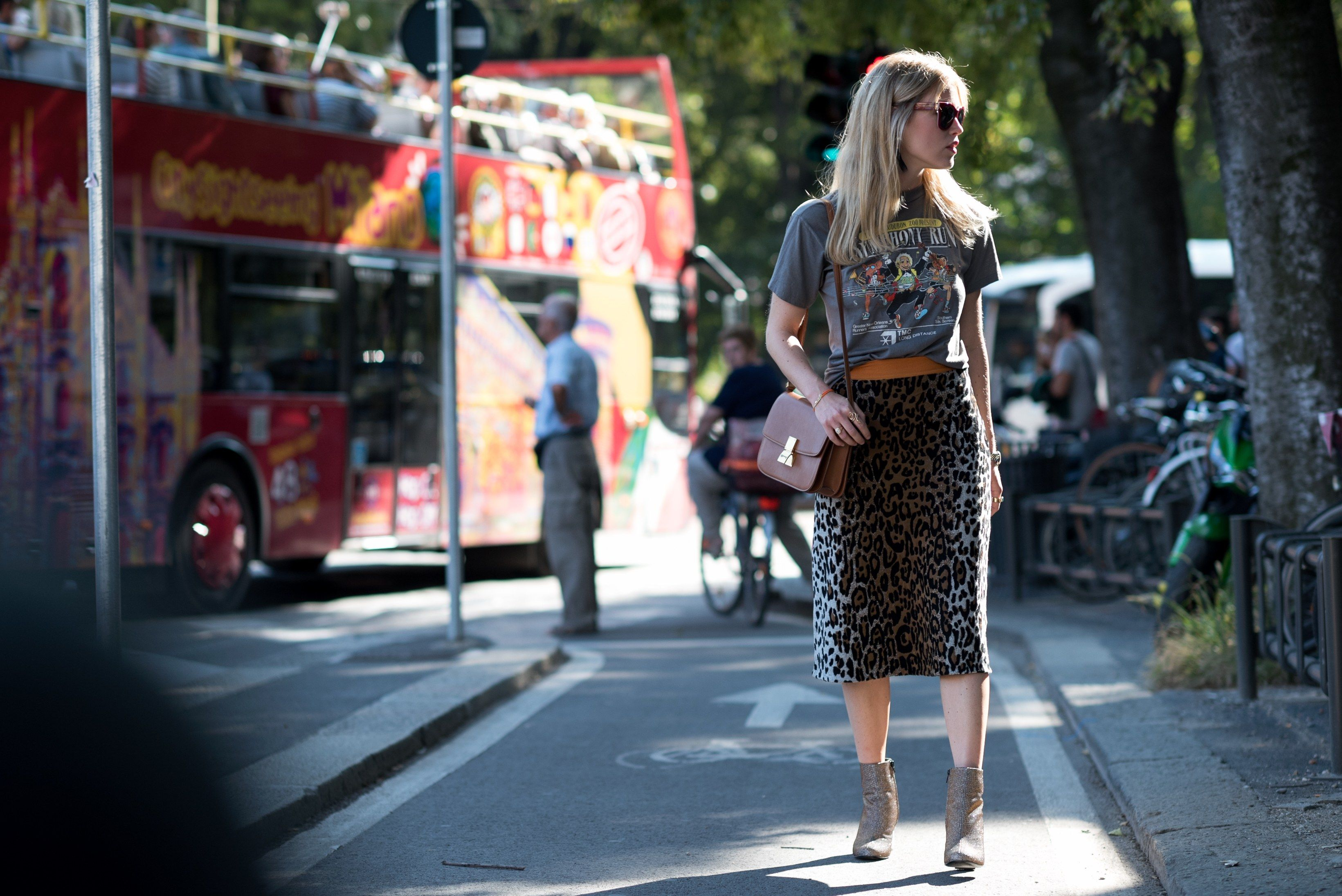 On the Streets of Milan, It's All Gucci, All the Time Photos   W Magazine