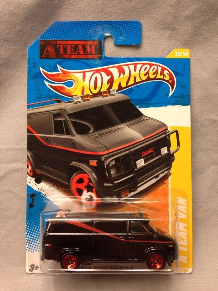 Hot Wheels A Team Van 2011 New Models 39 Gmc Mr T 5 Spoke