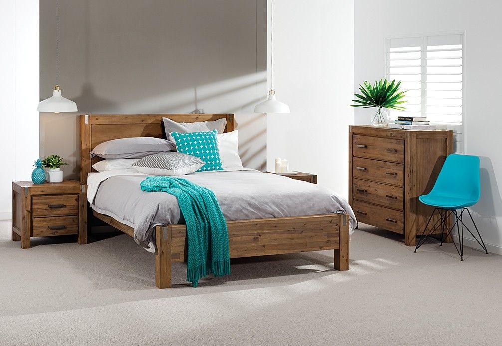 Best Silverwood 4 Piece Tall Chest Queen Bedroom Suite Super 400 x 300
