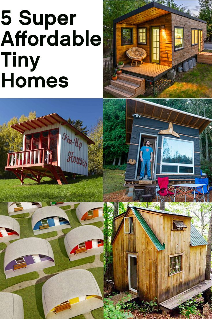 These 5 Tiny Homes Cost Less Than 12 000 To Build Tiny Home Cost House Cost Build My Own House