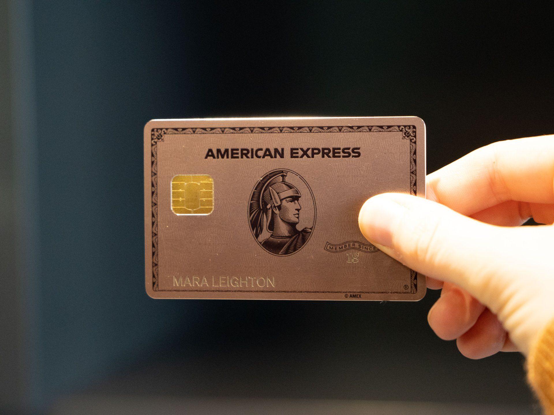 Amexs limitededition rose gold version of its brandnew