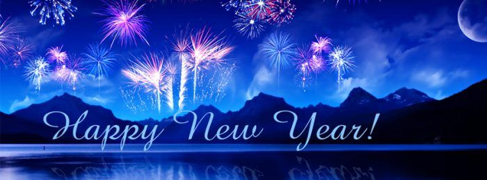 happy new year facebook banner