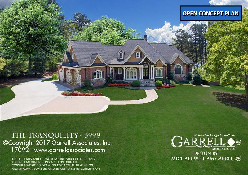 Tranquility 17092 3999 Garrell Associates Inc Basement Floor Plans Floor Plans Tranquility