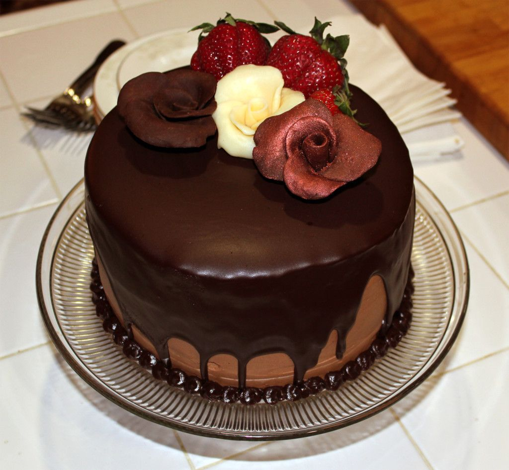 Chocolate Birthday Cakes Images For Friends Adsleaf