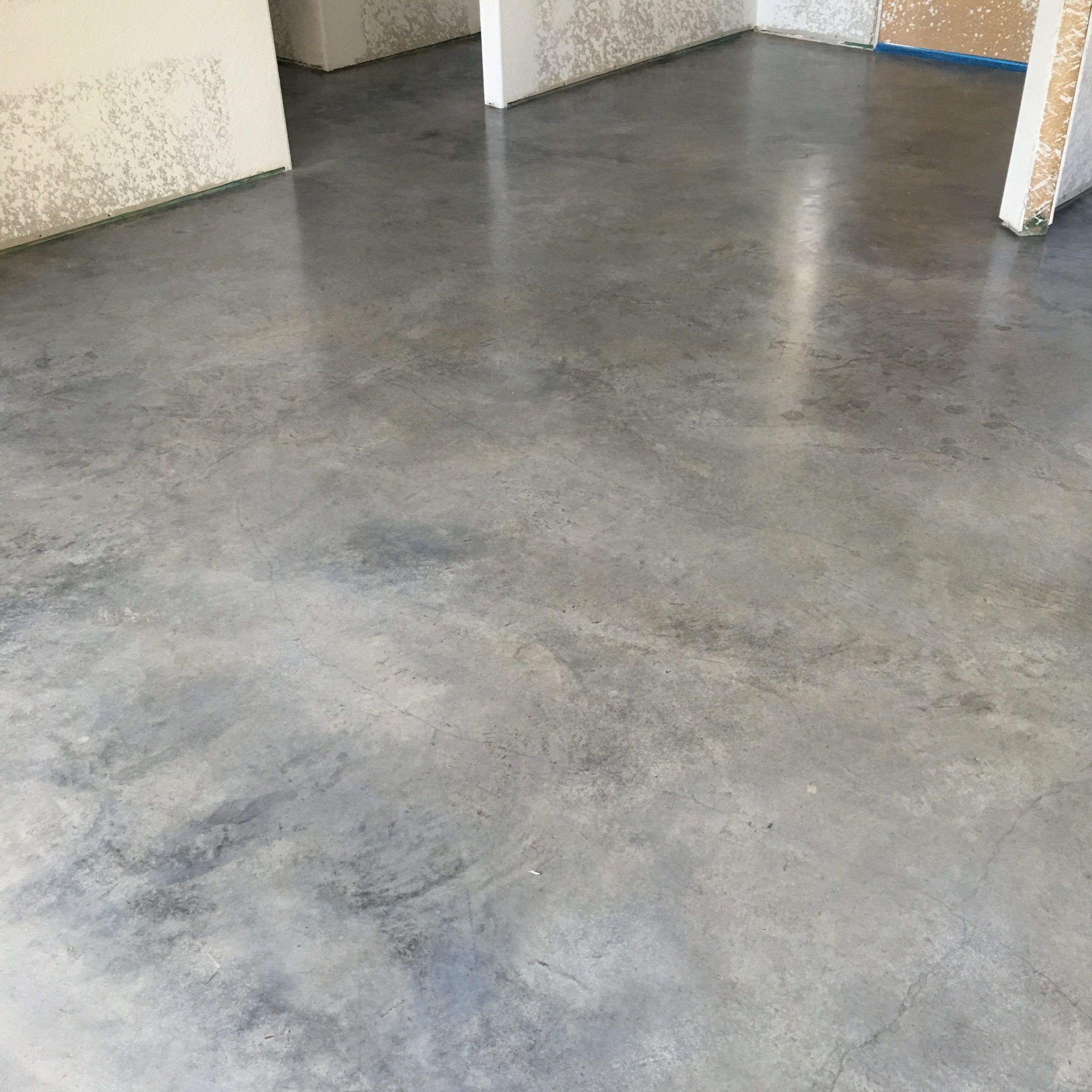 Eco Stain Pewter Concrete Floor Outdoor Concrete Floors