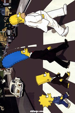 The Simpsons Iphone Wallpaper Simpson Wallpaper Iphone Simpsons Art Beatles Wallpaper