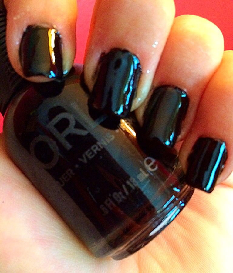 Orly Nail Lacquer in Liquid Vinyl. A VERY glossy, creamy, no light ...