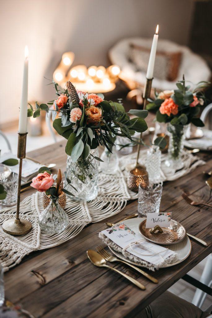 Romantische Boho-Hochzeit im Rheinland #bohemian