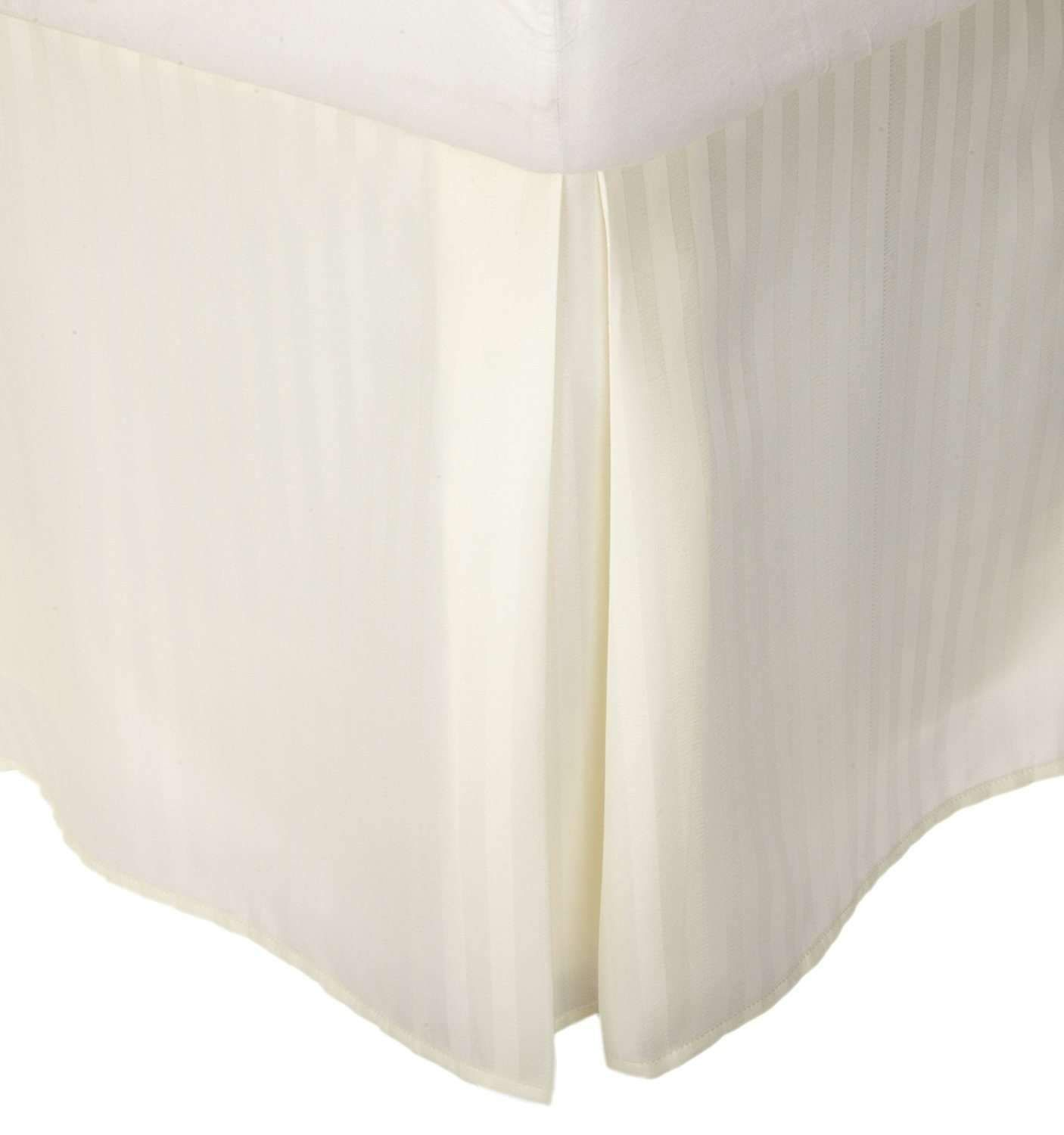 Striped 100 Cotton 300 Thread Count Solid Bed Skirt In 2018
