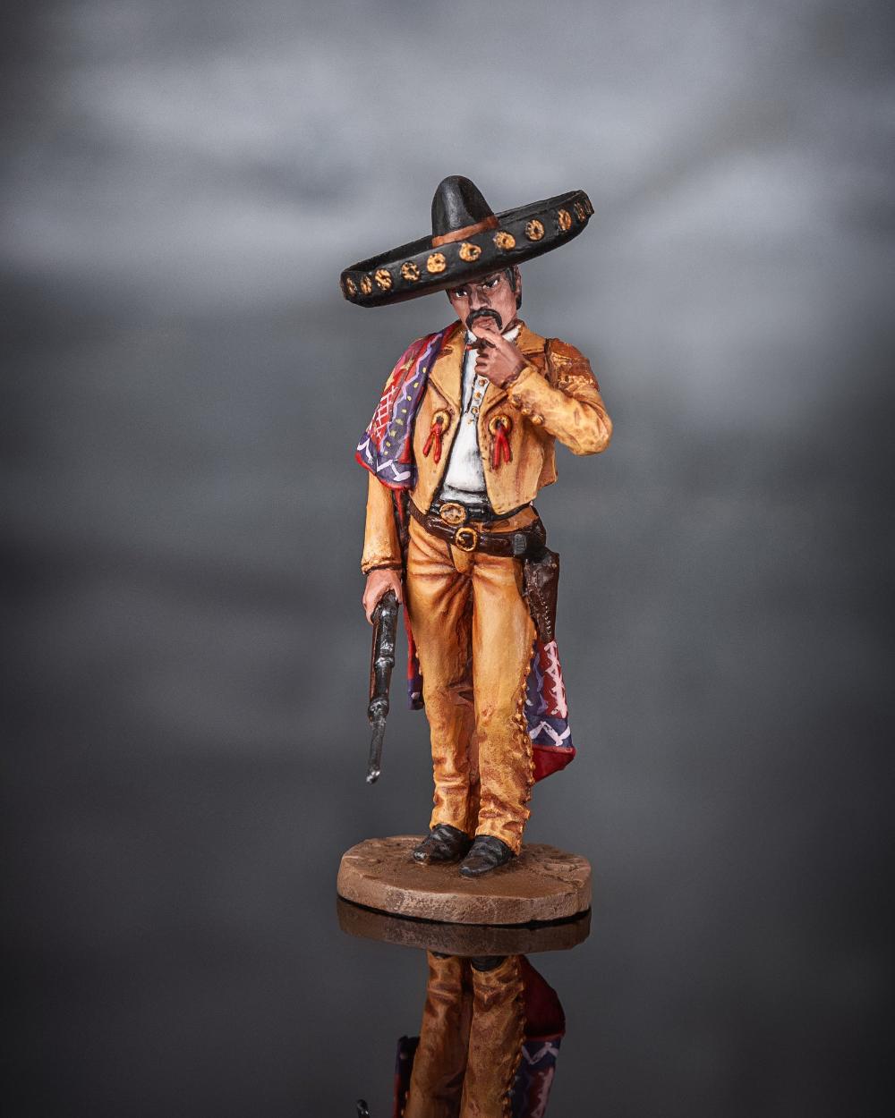 Tin soldier figure Oriental dancer 54 mm