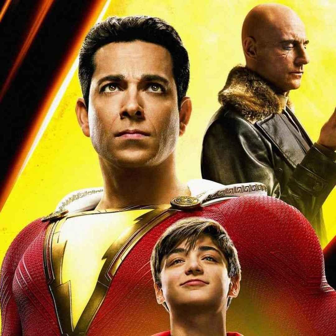 Prima Pagina Shazam, Zachary levi, Supereroi