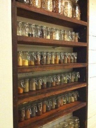 Heres a dream built in spice rack Heres a dream built in spice rack