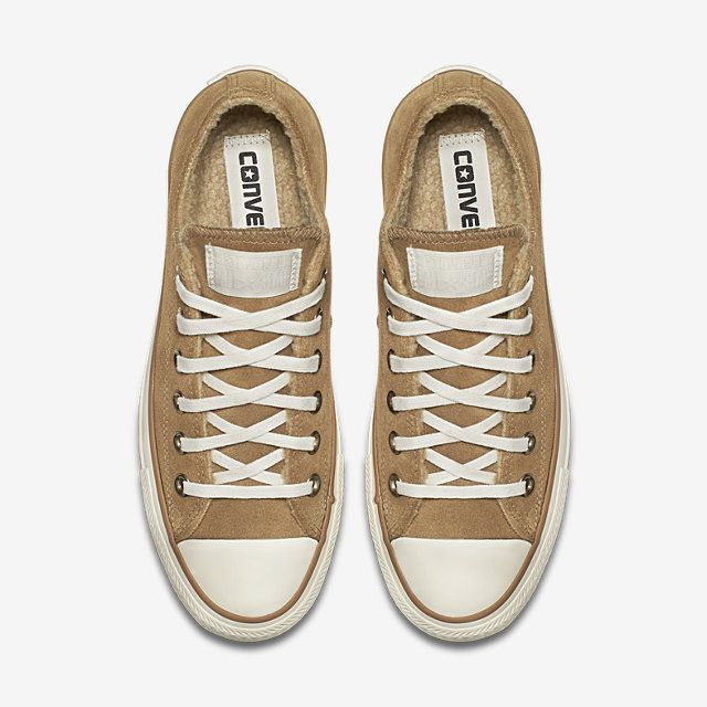 850e6357eecf Acquistare converse chuck taylor all star suede and faux shearling ...