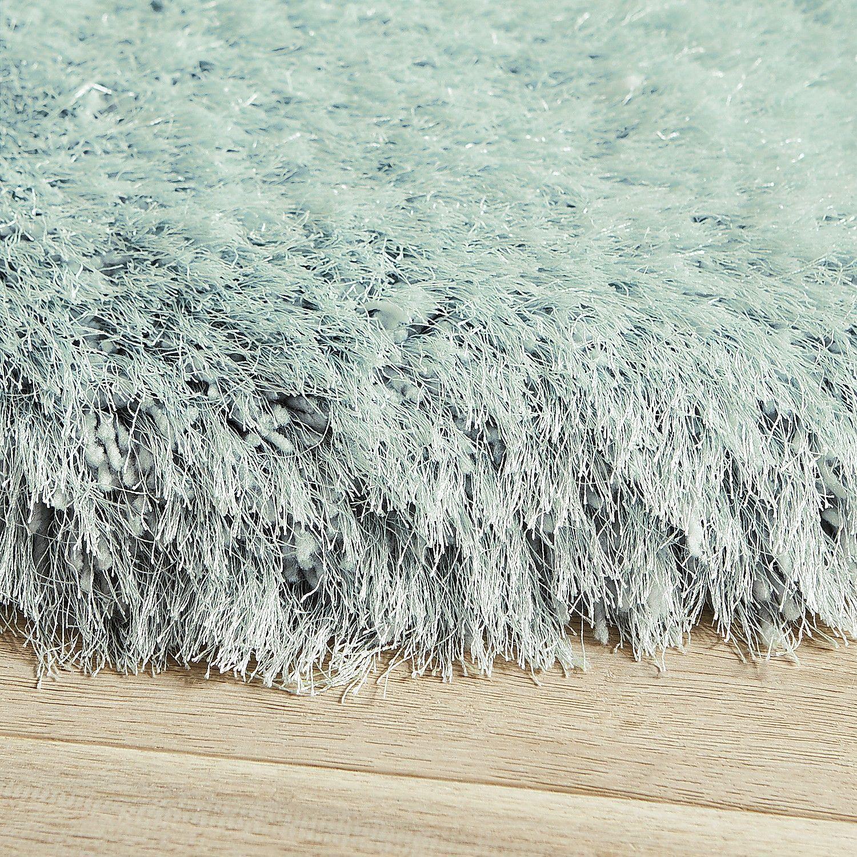 grand light blue 8' round shag rug | *home & garden* | pinterest