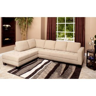 Exceptional Abbyson Living Claridge Fabric Sectional